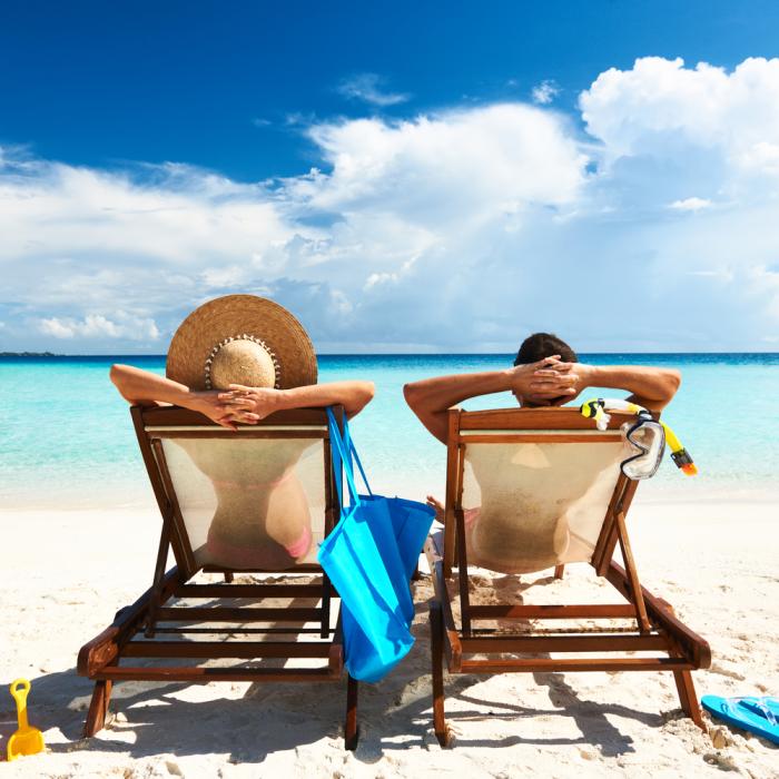 Молния способна обеспечить комфортный отдых на пляже. /Фото: hotelroomsearch.net