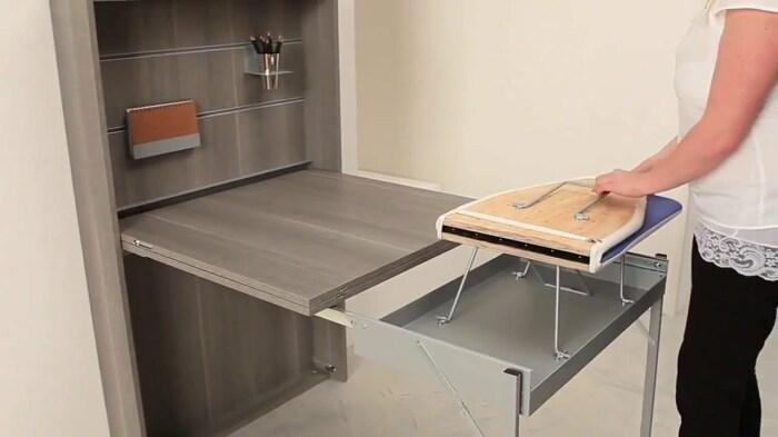 Столик, который придется по душе всем хозяйкам. /Фото: i.ytimg.com