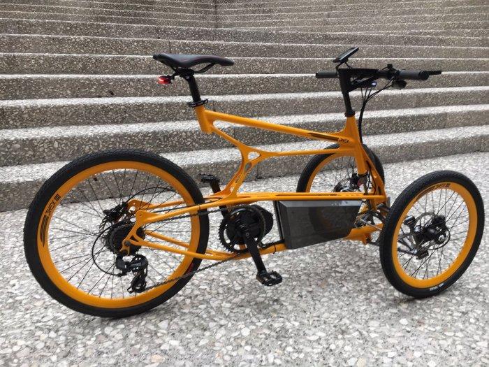 Необычная модель велосипеда для взрослых. /Фото: pbs.twimg.com