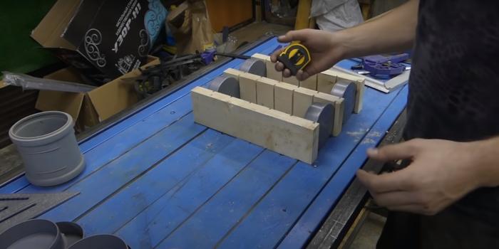 Промежуточный этап работы. /Фото: youtube.com/watch?v=BOWJ2wA2-M0