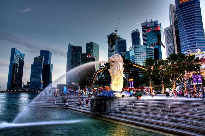 За 55 лет Сингапур изменился до неузнаваемости, хотя роскошно он выглядит уже не одно десятилетие. /Фото: znaj.ua
