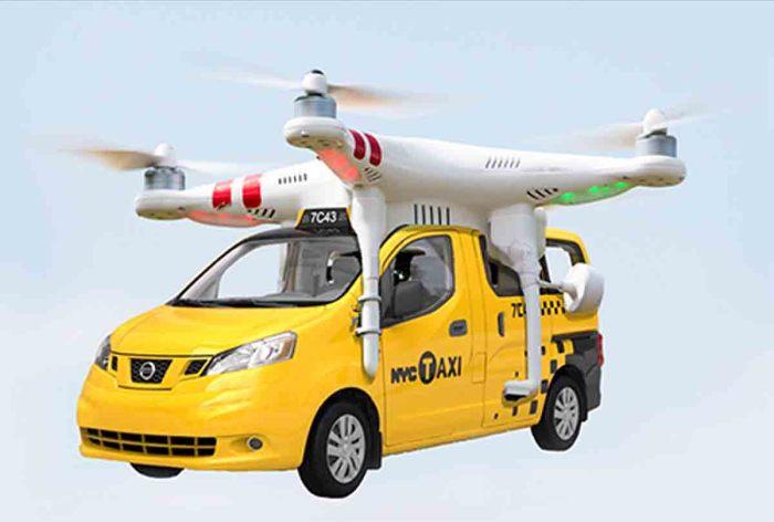 Летающий автомобиль мог бы решить вечную проблему пробок, но увы. /Фото: spiderimg.amarujala.com