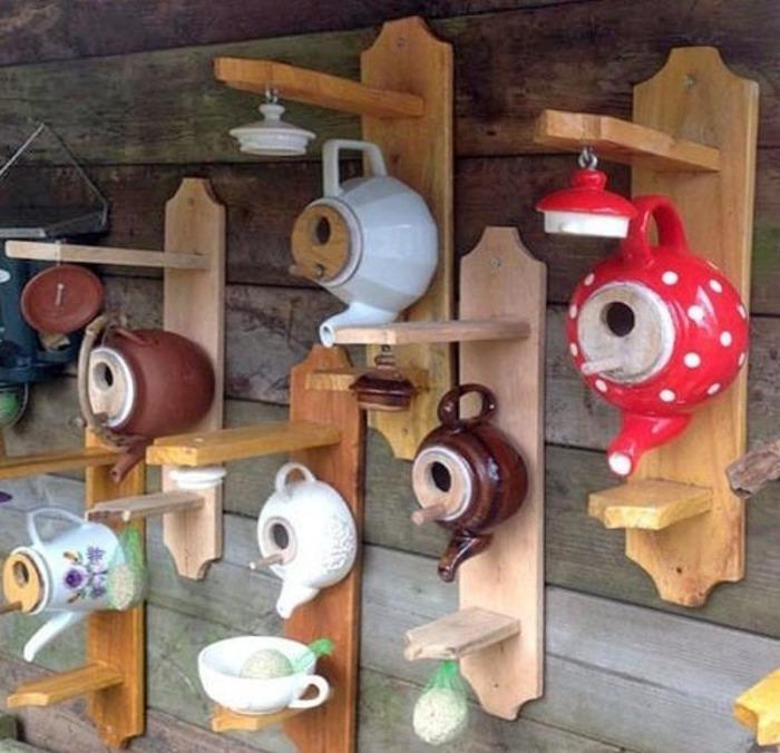 Стильный уголок для кормления птиц. /Фото: tehznatok.com