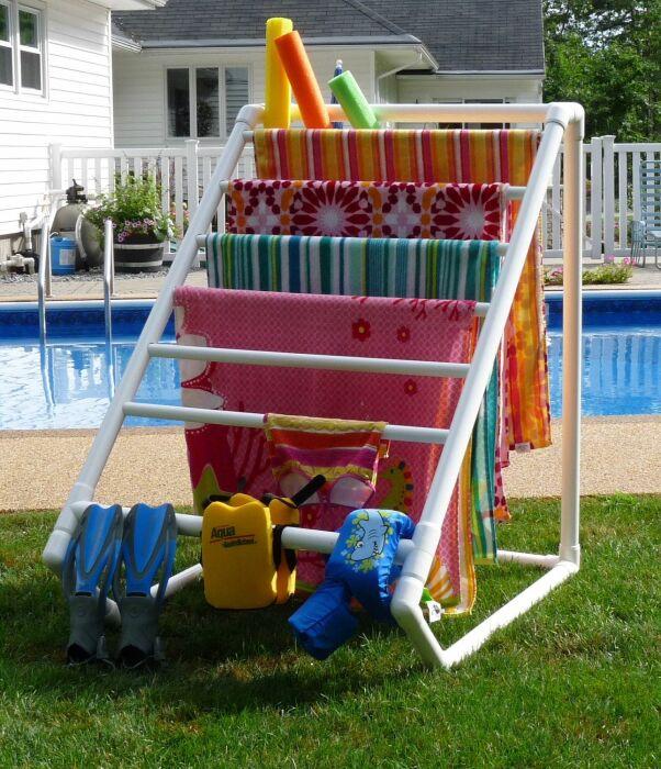 Благодаря такой простой, но удобной сушилке для белья, стирка станет гораздо приятнее. /Фото: 1.bp.blogspot.com