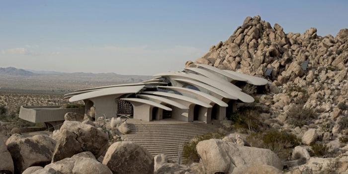 Desert House идеально сочетается с ландшафтом, став органичной частью пейзажа. /Фото: arel.ir