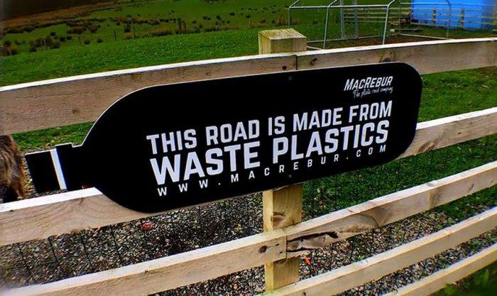 Состав с применением переработанного пластика подходит для трасс и менее оживленных участков дороги. /Фото: ipnoze.com