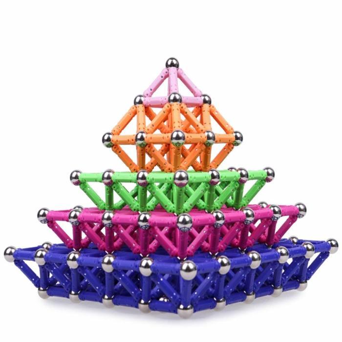 Магнитный конструктор поможет построить практически всё что угодно. /Фото: images-na.ssl-images-amazon.com