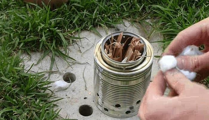 Одна из разновидностей походных печек. /Фото: treehugger.com