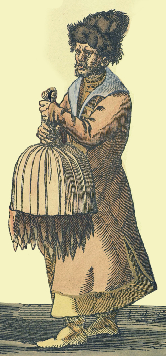 Слово «сорок» произошло от меры меховых шкурок. /Фото: upload.wikimedia.org