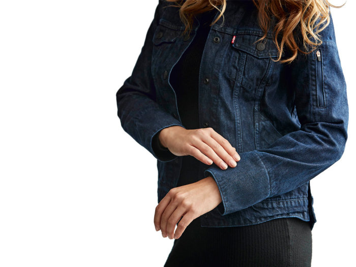 Умная куртка Levi's Commuter x Jacquard by Google. /Фото: telitec.com