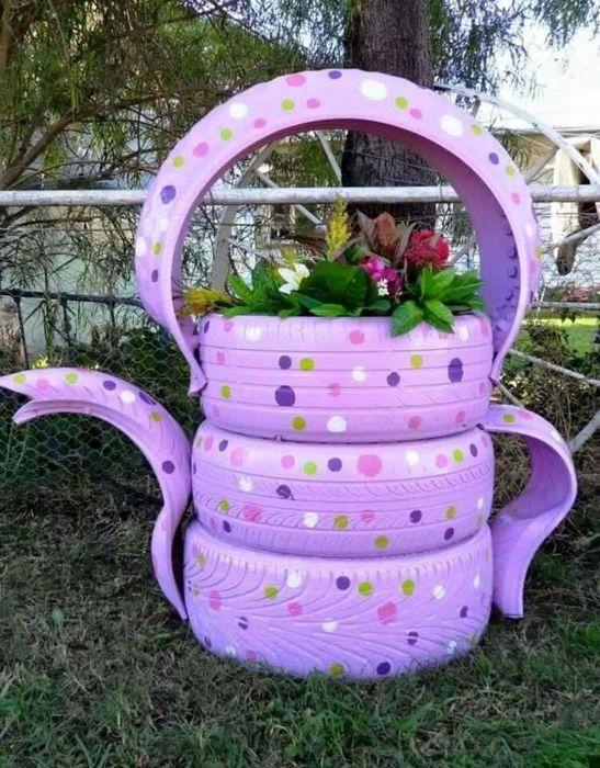 Такой декор станет настоящей местной достопримечательностью любого дачного хозяйства. /Фото: i.pinimg.com