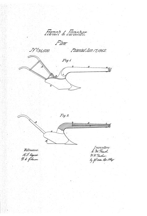 Иллюстрация плуга-оружия из патентной заявки. /Фото: patentimages.storage.googleapis.com