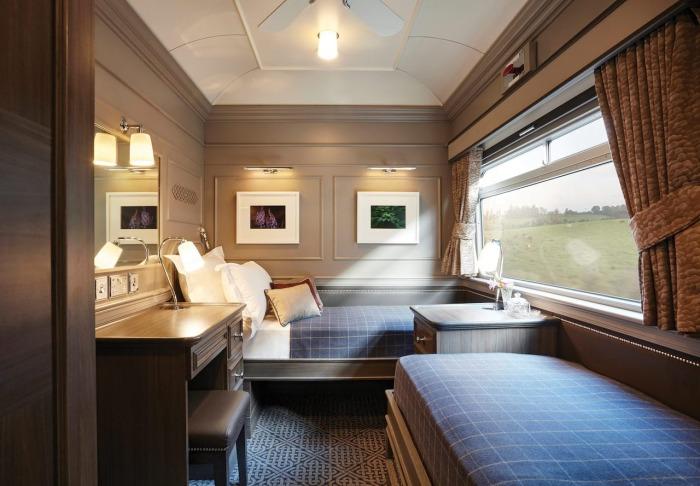 Уютная каюта обеспечивает комфортный отдых в пути. /Фото: belmondcdn.azureedge.net