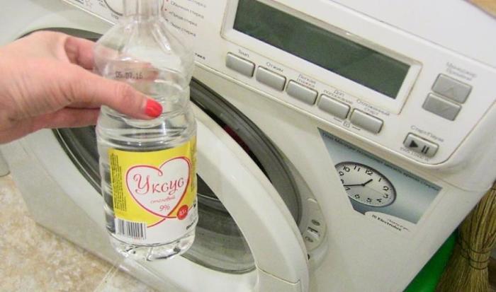 Не стоит бояться добавлять уксус в стиральную машину. /Фото: dpchas.com.ua