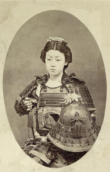 Оказывается, среди самураев были и женщины. /Фото: video-images.vice.com