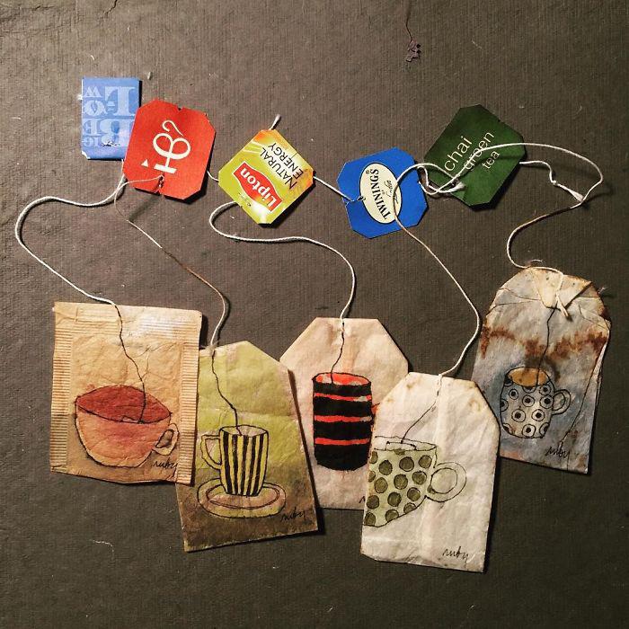 Использованные чайные пакетики имеют массу вариантов использования. /Фото: kulturologia.ru