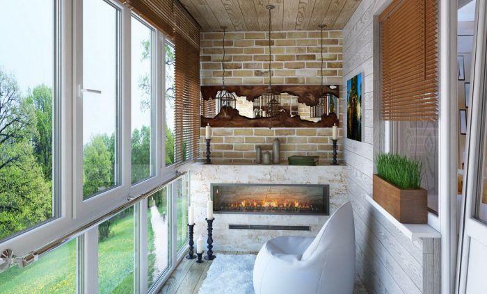 С таким балконом хороший отдых и настроение точно обеспечены. /Фото: remontbp.com