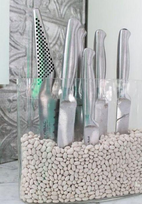 Полезная подставка, которая пригодится на каждой кухне. /Фото: i.pinimg.com