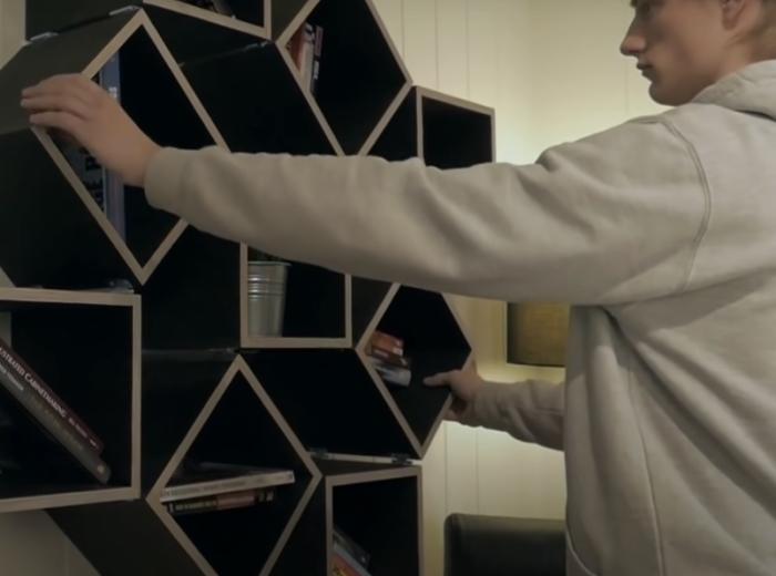 Конструкция, которая приходит в движение с минимальным усилием. /Фото: youtube.com/watch?v=Q-dJbHBgZew