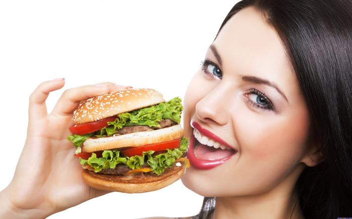 Любите гамбургеры – ешьте их на здоровье. /Фото: ultrahdwalls.com
