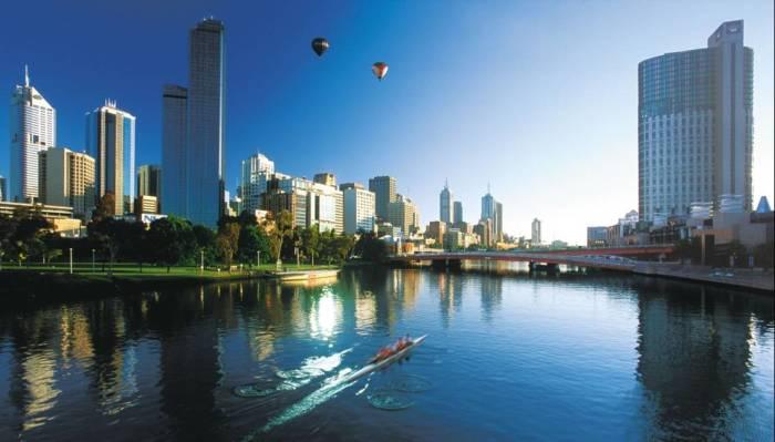Современный город с развитой инфраструктурой. /Фото: flying-school.com