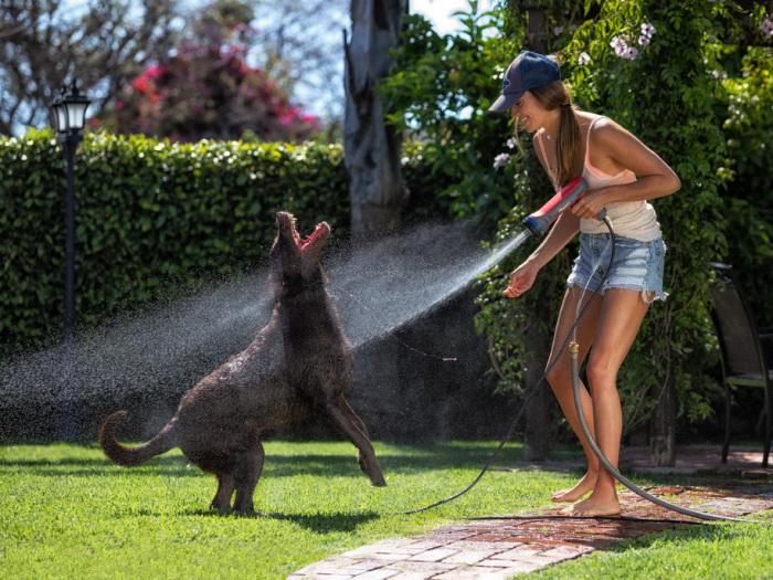 Полезное изобретение для уборки, полива, мытья и выполнения многих других задач. /Фото: hot-newtech.com