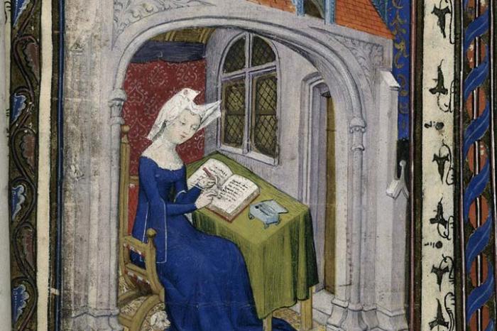 Кристина де Пизан — французская писательница  и поэтесса Средневековья. /Фото: shc.stanford.edu