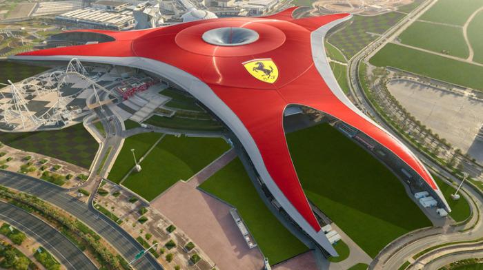 Под крышей парка Ferrari World можно найти развлечения на любой вкус. /Фото: api.ferrarinetwork.ferrari.com