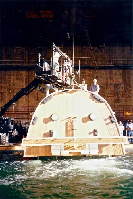Макет кормовой части «Титаника». /Фото: vfxblog.com