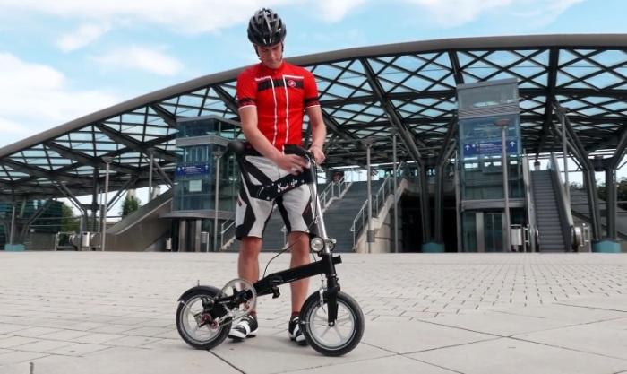 Компактный велосипед, с которым может справиться любой, даже неопытный водитель. /Фото: ecotechnica.com.ua