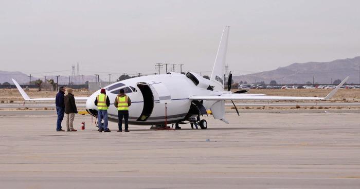 Необычный летательный аппарат сразу вызвал интерес пользователей авиафорумов. /Фото: thedrive.com