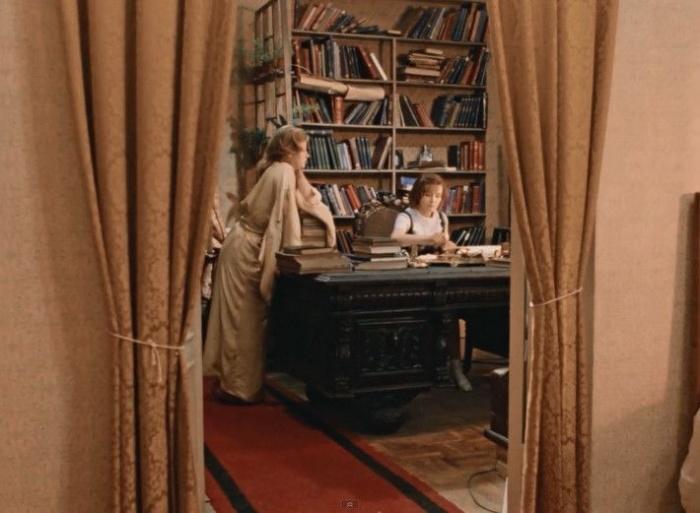 Большое количество книг можно заметить даже в советских фильмах. /Фото: image3.thematicnews.com