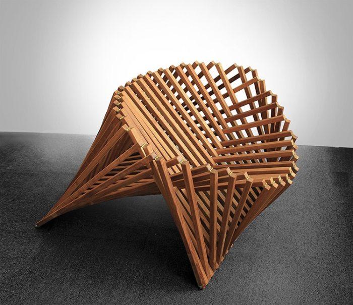 Необычная мебель, которая способна поразить воображение любого человека. /Фото: mymodernmet.com