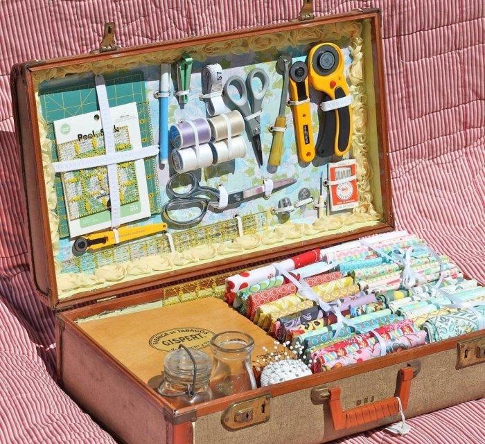 Очень удобная система хранения для тех, кто любит рукоделие. /Фото: kakpostroit.su