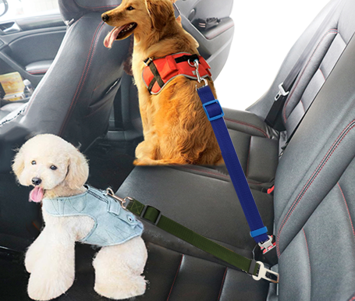 Ремень для животного сделает поездку безопаснее. /Фото: ae01.alicdn.com