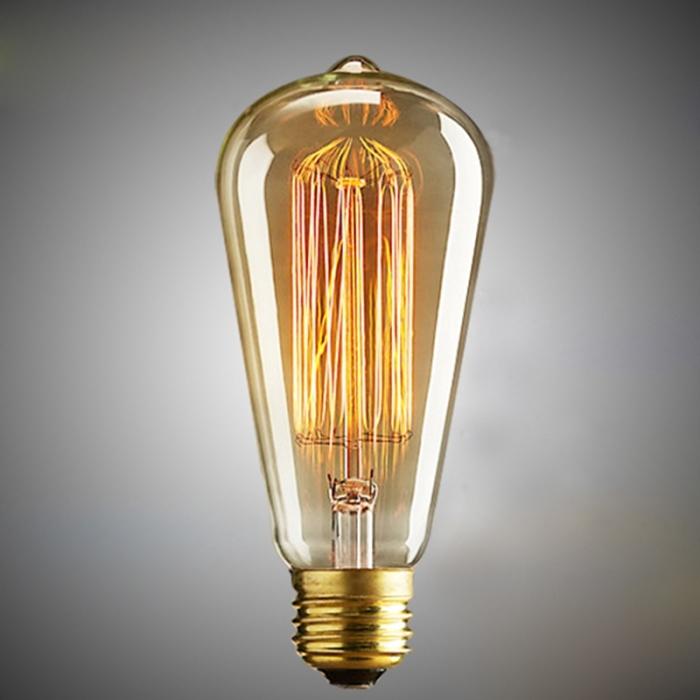 Лампочка Эдисона. /Фото: cf.shopee.sg