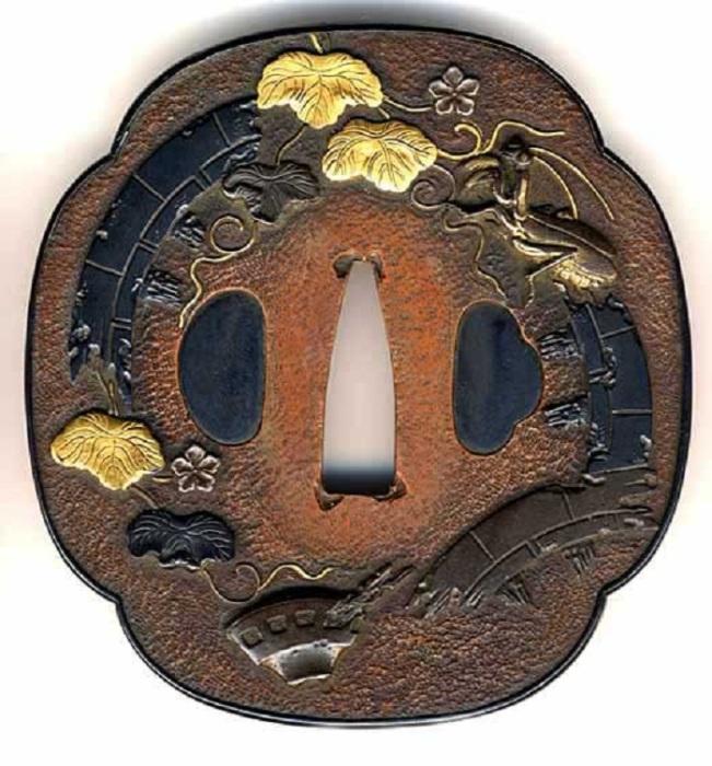 Цуба с инкрустацией из золота, примерно 1750-1800 годы. /Фото: ncjsc.org