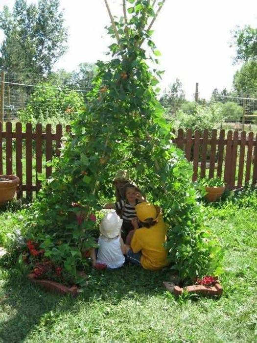 Красивое и таинственное место для детских игр. /Фото: trend4homy.com
