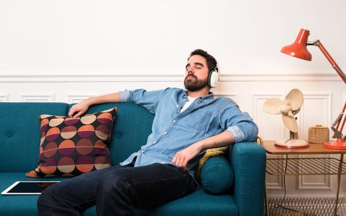 Наушники Melomind – отличное средство снять стрессовое состояние. /Фото: cdn.shopify.com