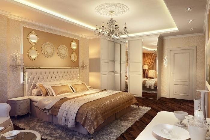 Неоклассический стиль — для ценителей роскоши. /Фото: sakhexpo.ru