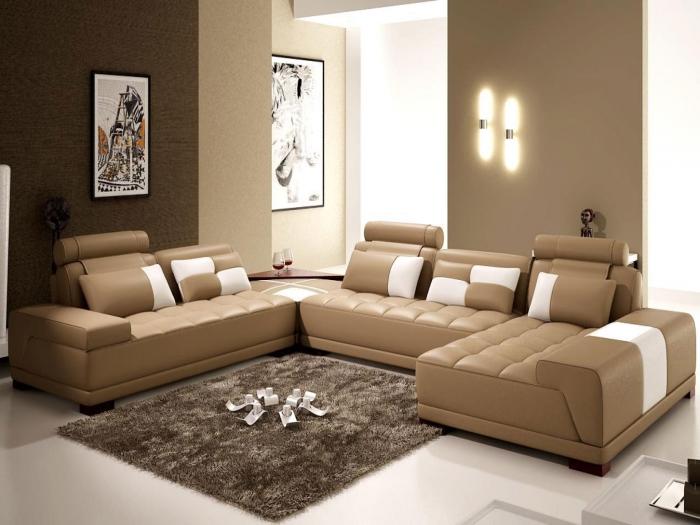 Теплая комбинация нейтральных оттенков отлично смотрится на бежевом или другом нейтральном цвете. /Фото: glubdubs.com