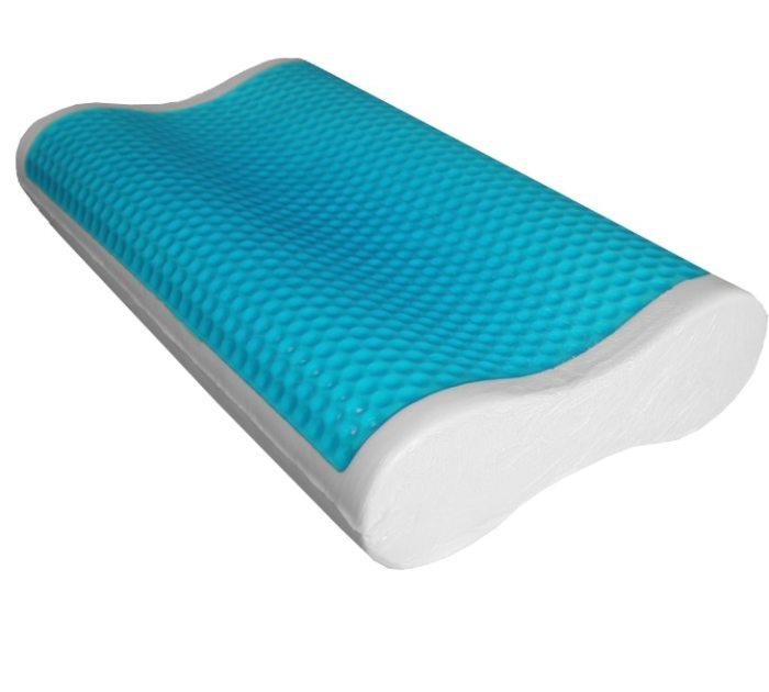 Подушка с гелевым покрытием и эффектом памяти. /Фото: cdn11.bigcommerce.com