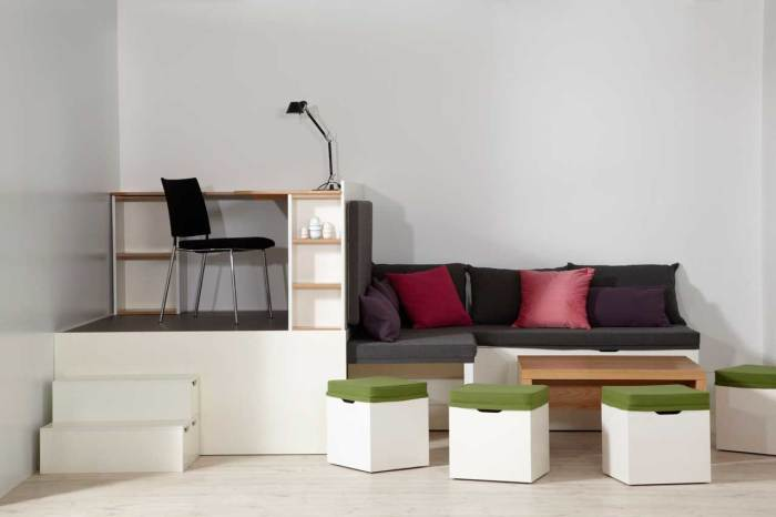 Комплект мебели Matroshka Furniture. /Фото: maarja.marga.ee
