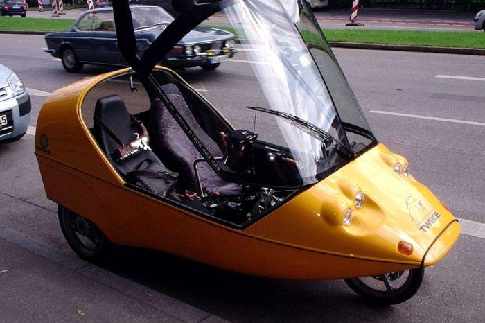 Twike: два в одном – мобильное транспортное средство и тренажер. /Фото: theflashlist.com