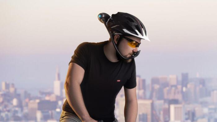 Iwind подает воздух, не прикасаясь к лицу. /Фото: handelsblatt.com