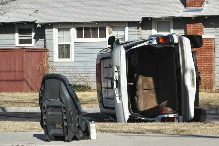 Внедорожник не гарантирует стопроцентную безопасность. /Фото: askrobertwhite.com