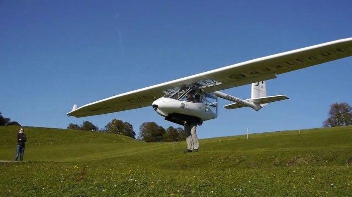 Чтобы ощутить радость полета, не обязательно нужен мощный двигатель. /Фото: i.ytimg.com