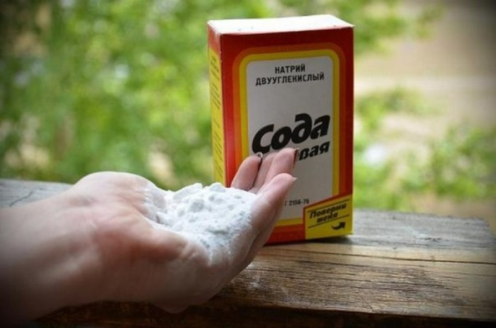 Пищевую соду можно использовать, чтобы потушить огонь. /Фото: ru-an.info