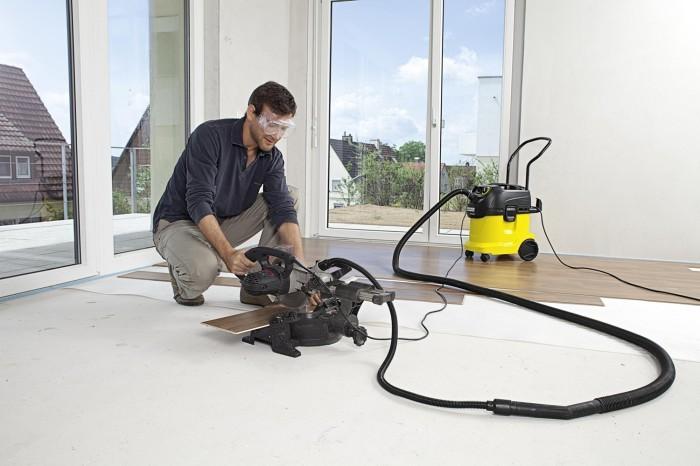 Для уборки строительной пыли предназначен строительный пылесос. /Фото: hostingkartinok.com