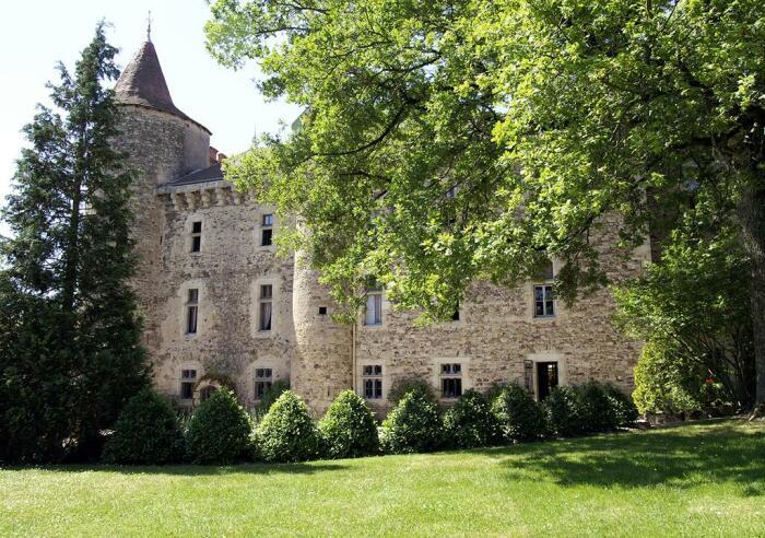 Chateau De Codignat выглядит сказочно. /Фото: cf.bstatic.com